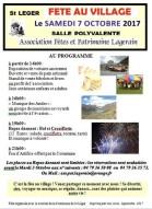 St Léger programme fete 7 oct 2017 Pays des Hurtières Maurienne.JPG